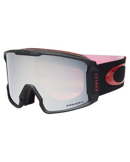 RED BLACK PRIZM BOARDSPORTS SNOW OAKLEY GOGGLES - OO7070-41RDBLK