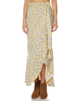 GOLDEN WILDFLOWER WOMENS CLOTHING RUE STIIC SKIRTS - JA1736PGOLD