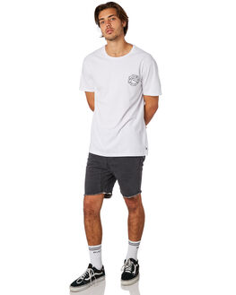 WHITE MENS CLOTHING RUSTY TEES - TTM2255WHT