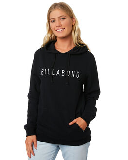 BLACK WOMENS CLOTHING BILLABONG JUMPERS - 6595746BLK