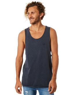 INK MENS CLOTHING SILENT THEORY SINGLETS - 40X0012INK
