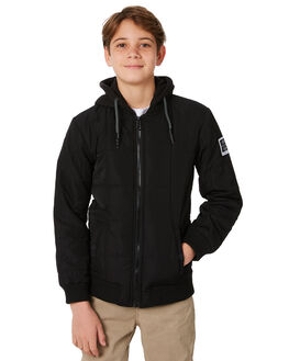 BLACK KIDS BOYS ST GOLIATH JUMPERS + JACKETS - 2414016BLK