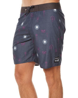OIL GREY MENS CLOTHING RVCA BOARDSHORTS - R171401OGY