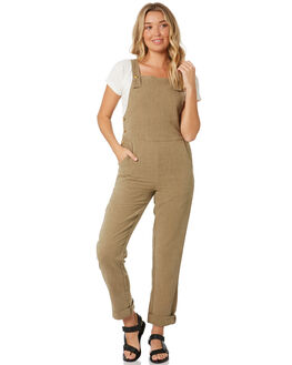 PALE AQUA WOMENS CLOTHING RUSTY PLAYSUITS + OVERALLS - MCL0324PRA