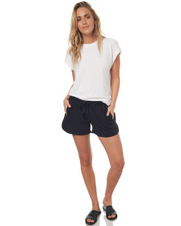 BLACK WOMENS CLOTHING BETTY BASICS SHORTS - BB249S17BLACK