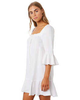 WHITE WOMENS CLOTHING MLM LABEL DRESSES - MLM627AWHT