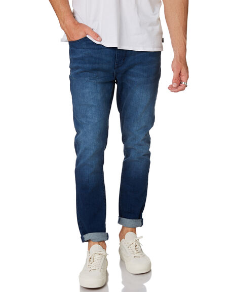 BLUE MOON MENS CLOTHING A.BRAND JEANS - 812524297