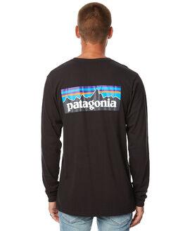 BLACK MENS CLOTHING PATAGONIA TEES - 38933BLK