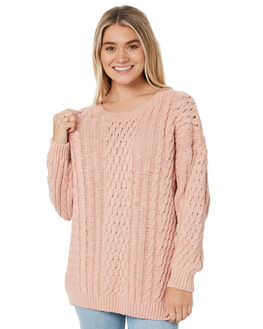 DUSTY PEACH WOMENS CLOTHING RUSTY KNITS + CARDIGANS - CKL0383DPR