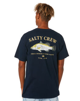 NAVY MENS CLOTHING SALTY CREW TEES - 20035303ANVY