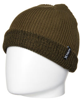 FADED OLIVE MENS ACCESSORIES HURLEY HEADWEAR - MBN000058036W