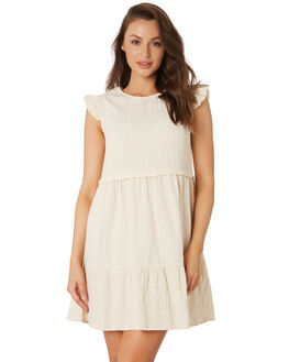 VANILLA WOMENS CLOTHING RHYTHM DRESSES - OCT19W-DR08-VAN