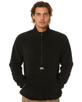 BLACK MENS CLOTHING VOLCOM JUMPERS - A4631912BLK