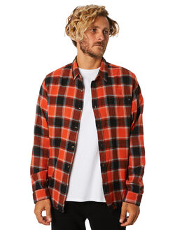 SUNSET MENS CLOTHING RUSTY SHIRTS - WSM0865SUS