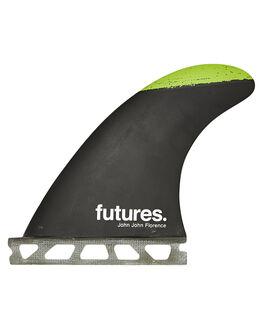 BLACK MULTI SURF HARDWARE FUTURE FINS FINS - JJS-010303BLK