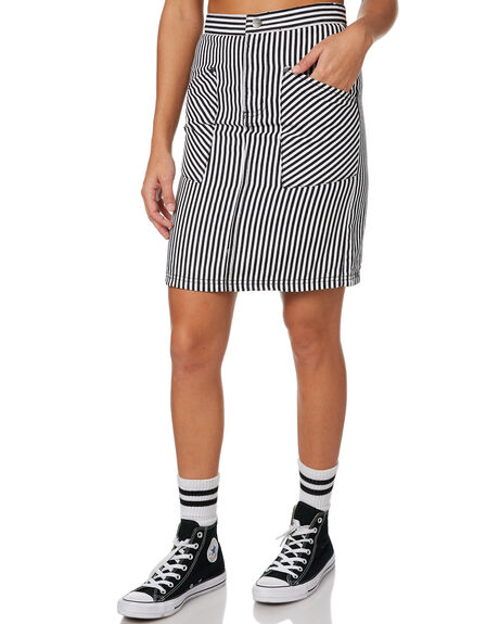 STRIPE WOMENS CLOTHING AFENDS SKIRTS - W181900STR