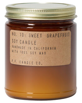 SWEET GRAPEFRUIT WOMENS ACCESSORIES PF CANDLE CO HOME + BODY - SC10NAT