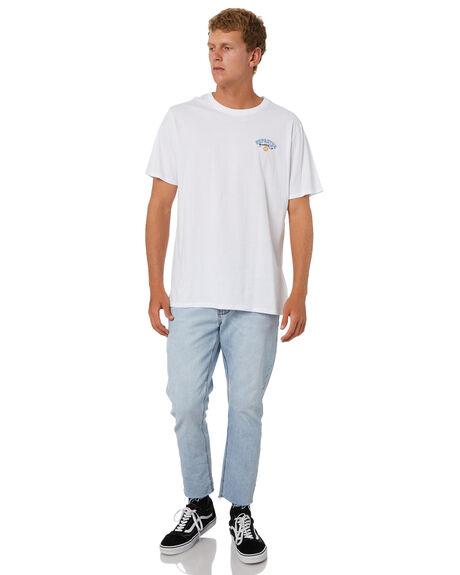 WHITE MENS CLOTHING DEPACTUS TEES - D5214005WHT