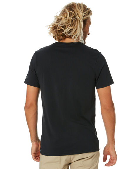 BLACK MENS CLOTHING VOLCOM TEES - A5032074BLK