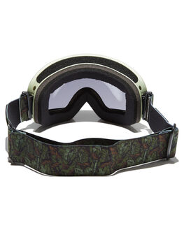 ARMY GREEN BLACK BOARDSPORTS SNOW CARVE GOGGLES - 6008ARGR
