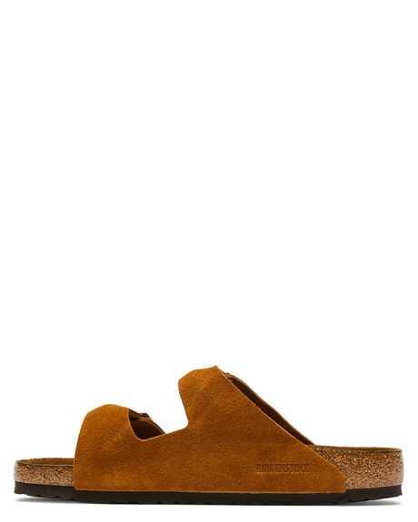MINK MENS FOOTWEAR BIRKENSTOCK SLIDES - 1009526MMINK