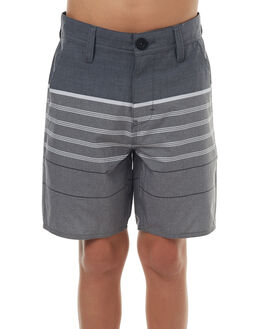 BLACK KIDS BOYS RIP CURL SHORTS - KWAIB10090