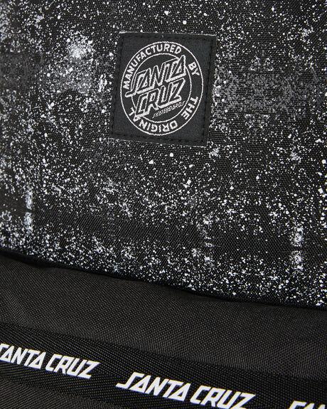 BLACK MENS ACCESSORIES SANTA CRUZ BAGS + BACKPACKS - SC-MAA0835-3BLK