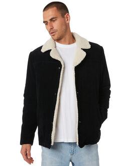 BLACK CORD MENS CLOTHING WRANGLER JACKETS - W-901823-E49