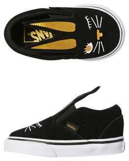 BLACK GOLD KIDS TODDLER GIRLS VANS FOOTWEAR - VNA3MTZZX1BLKGL