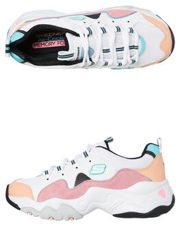 WHITE WOMENS FOOTWEAR SKECHERS SNEAKERS - 12956WPKB