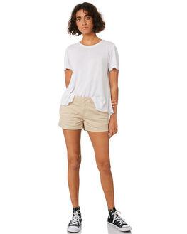 OXFORD TAN WOMENS CLOTHING VOLCOM SHORTS - B0911800OXF