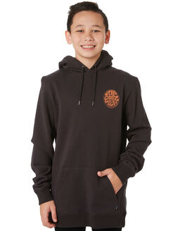 WASHED BLACK KIDS BOYS RIP CURL JUMPERS + JACKETS - KFEOM18264