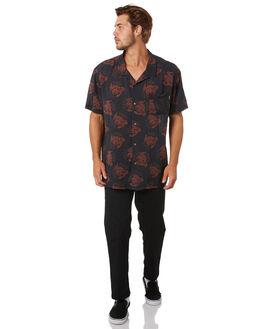 BLACK MENS CLOTHING SANTA CRUZ SHIRTS - SC-MSA0499BLK