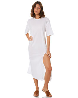 WHITE WOMENS CLOTHING ZULU AND ZEPHYR DRESSES - ZZ2210WHT