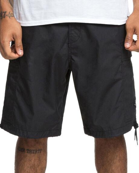 BLACK MENS CLOTHING DC SHOES SHORTS - EDYWS03105KVJ0