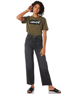 YOU ONLY LIVE ONCE WOMENS CLOTHING LEVI'S JEANS - 72693-0001YOU