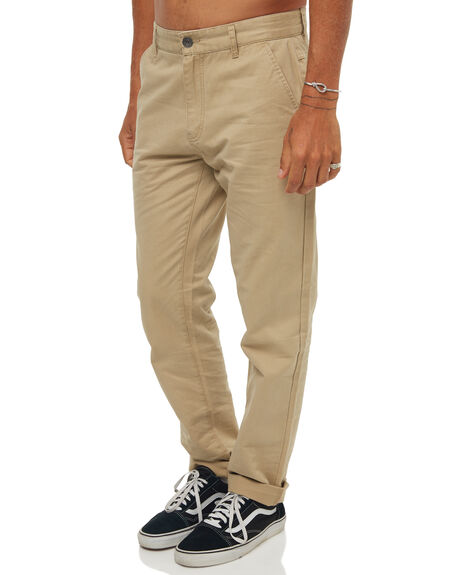 TAN MENS CLOTHING RHYTHM PANTS - JAN18M-PA01TAN