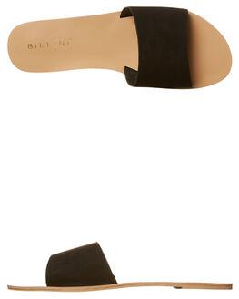 BLACK SUEDE WOMENS FOOTWEAR BILLINI FASHION SANDALS - S452BLKSD