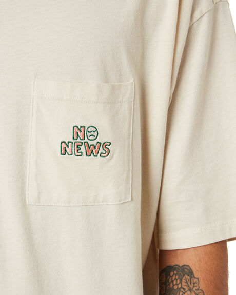 PIGMENT SAND OUTLET MENS NO NEWS TEES - N5202001PIGSD