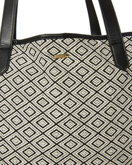 BLACK WHITE WOMENS ACCESSORIES RUSTY BAGS + BACKPACKS - BFL1046BWT