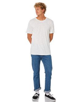 WHITE MENS CLOTHING RHYTHM TEES - JAN20M-CT01-WHT
