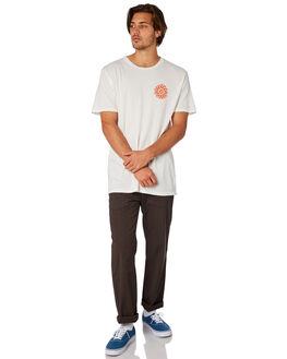 WHITE MENS CLOTHING MOLLUSK TEES - MS1713WHT