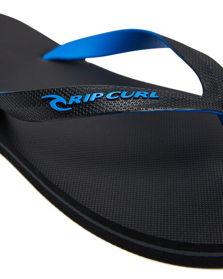 BLACK BLUE MENS FOOTWEAR RIP CURL THONGS - TCTA660107