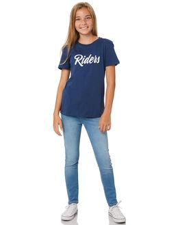 AERO BLUE KIDS GIRLS RIDERS BY LEE PANTS - R-80096T-KA1