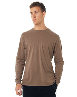 WASHED OLIVE OUTLET MENS SWELL TEES - S5162022WSHOL