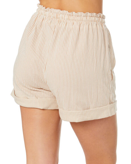 STRIPE WOMENS CLOTHING THE HIDDEN WAY SHORTS - H8211231STRIP