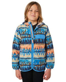 BANDICOOT PORT BLUE KIDS BOYS PATAGONIA JUMPERS + JACKETS - 64232BAPO