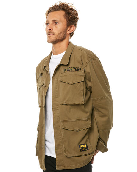 ARMY MENS CLOTHING ZOO YORK JACKETS - ZY-MJA8107ARMY