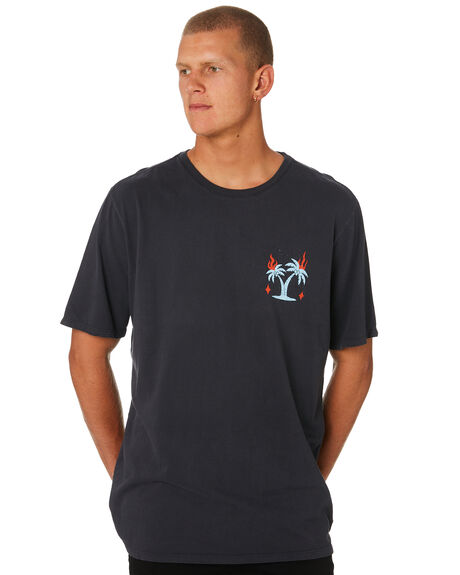 ANTHRACITE MENS CLOTHING HURLEY TEES - AO2103060