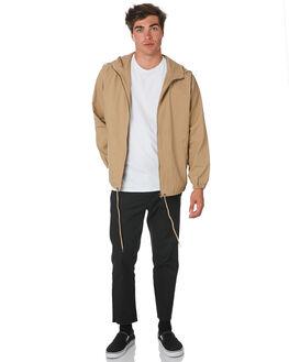 TAN MENS CLOTHING SWELL JACKETS - S5194381TAN